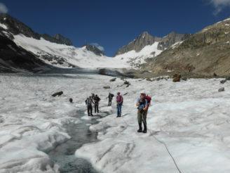 Gletschertrekking Joch - Grimsel 056